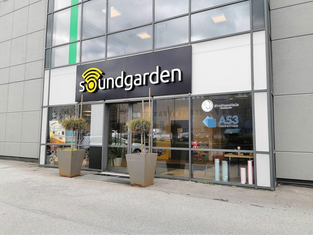 Soundgarden Forus holder til i Forus næringpark utenfor Stavanger. Foto: Atle Dreier.