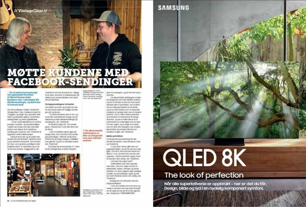 """Artikkelen ble første gang publisert i papirutgaven av fagbladet Elektronikkbransjen nr. 3/2020, som ble distribuert 22. juni. <a href=""""https://www.mypaper.se/html5/customer/248/12881/?page=60"""" target=""""_blank"""" rel=""""noopener"""">Her kan du lese artikkelen</a> og bla gjennom digitalutgaven av bladet. Du kan lese alle utgaver av bladet digitalt, fra og med nr. 1/1937, på <a href=""""https://www.elektronikkbransjen.no/historiskarkiv"""" target=""""_blank"""" rel=""""noopener"""">elektronikkbransjen.no/historiskarkiv</a>."""