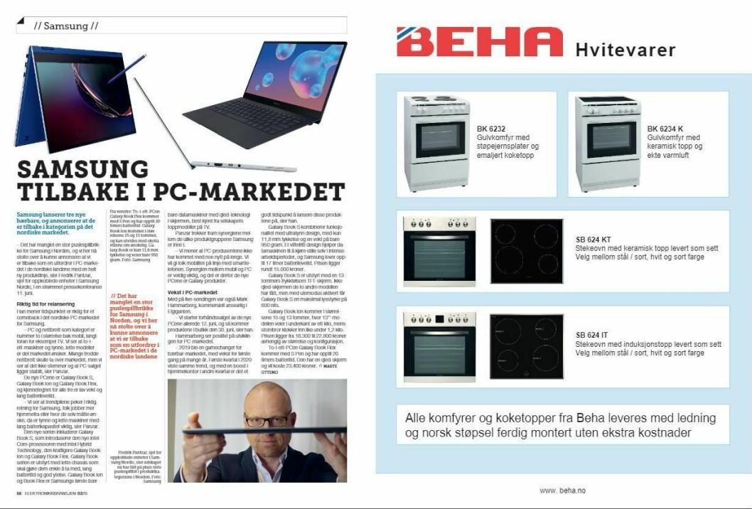 """Artikkelen ble første gang publisert i papirutgaven av fagbladet Elektronikkbransjen nr. 3/2020, som ble distribuert 22. juni. <a href=""""https://www.mypaper.se/html5/customer/248/12881/?page=56"""" target=""""_blank"""" rel=""""noopener"""">Her kan du lese artikkelen</a> og bla gjennom digitalutgaven av bladet. Du kan lese alle utgaver av bladet digitalt, fra og med nr. 1/1937, på <a href=""""https://www.elektronikkbransjen.no/historiskarkiv"""" target=""""_blank"""" rel=""""noopener"""">elektronikkbransjen.no/historiskarkiv</a>."""