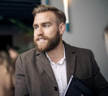 Tollef Volland, sjef for forretningsutvikling på AppGallery i Norge, sier Huawei nå har 40 mennesker ansatt Norden for å jobbe lokale aktører. Foto: Huawei.