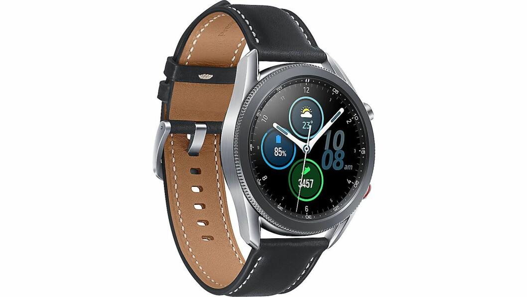 Galaxy Watch3 kommer med støtte for eSIM. Foto: Samsung.