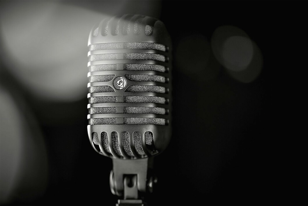Mikrofonklassiker: Shure Super55. Foto: Shure.