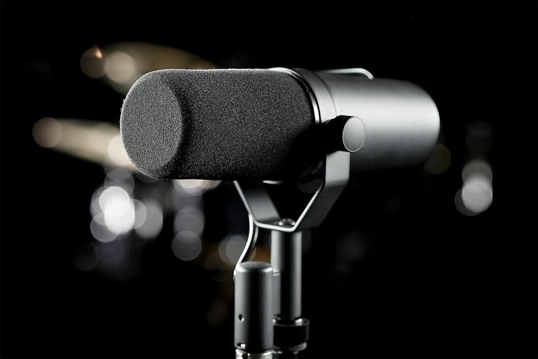 Mikrofonklassiker: Shure SM7B. Foto: Shure.