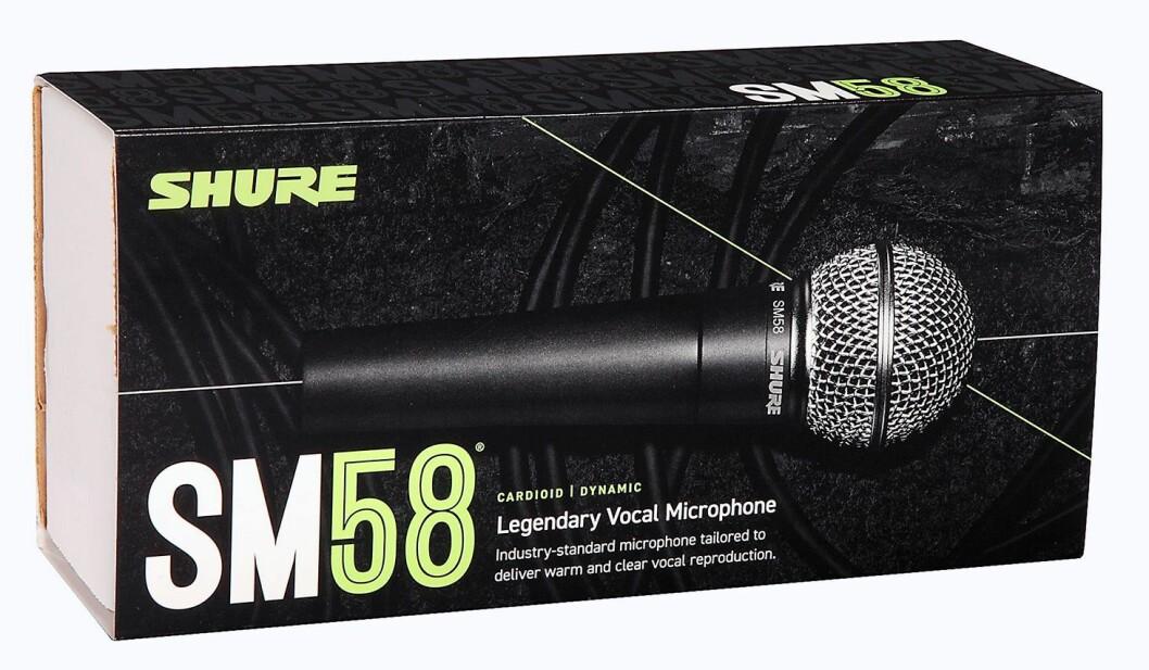 Mikrofonklassiker: Shure SM58. Foto: Shure.