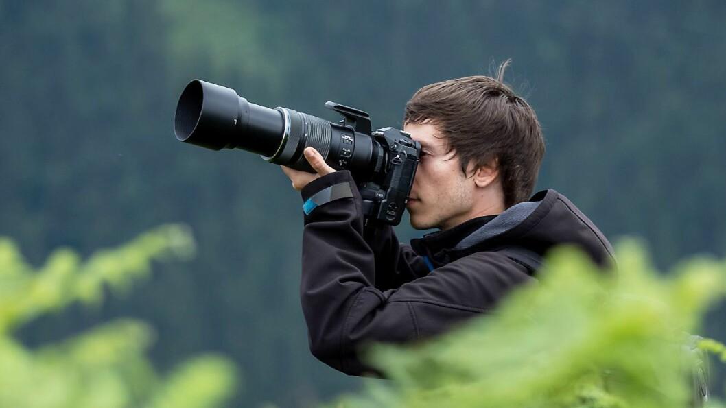 Supertele-zoomen M.Zuiko Digital ED 100-400mm F5.0-6.3 IS lar deg komme tett på motivet ditt. Foto: Olympus.