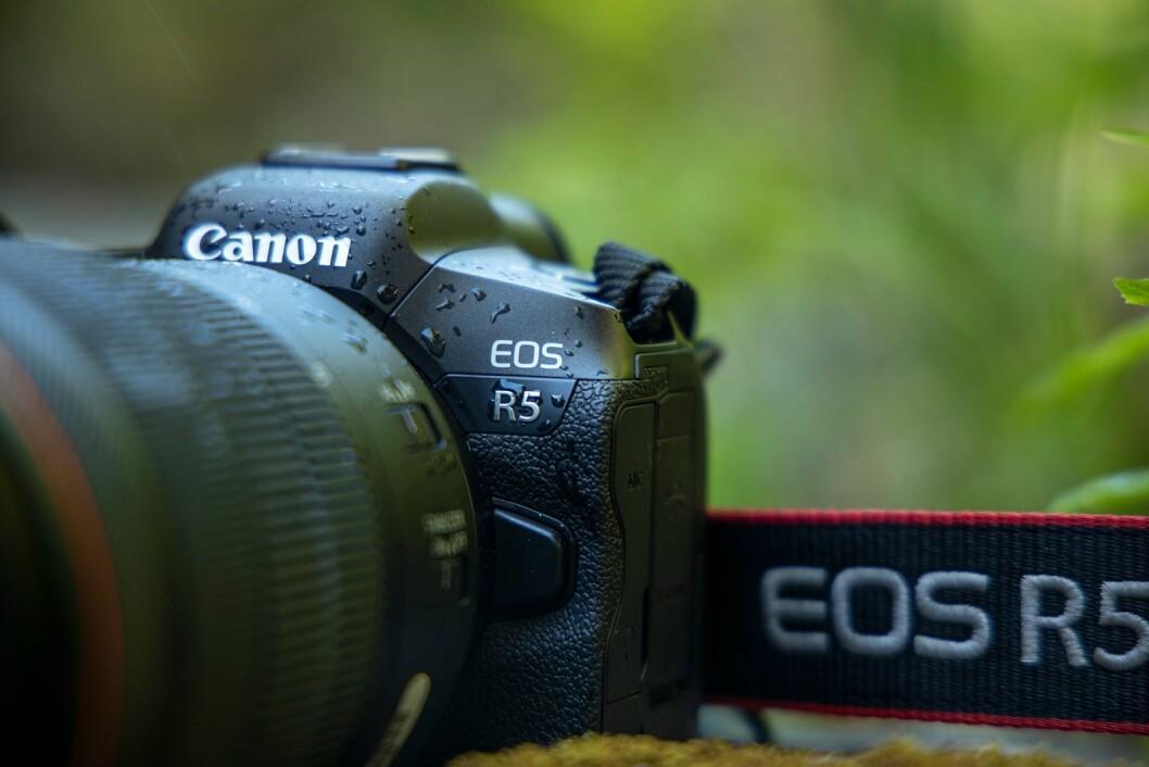 Canon EOS R5 er kameraet for proffen. Foto: Canon.