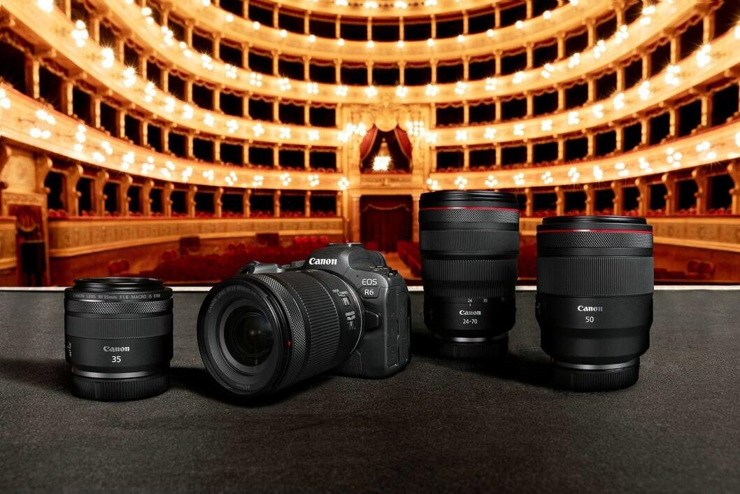 Canon EOS R6 er kameraet for entusiasten. Foto: Canon.