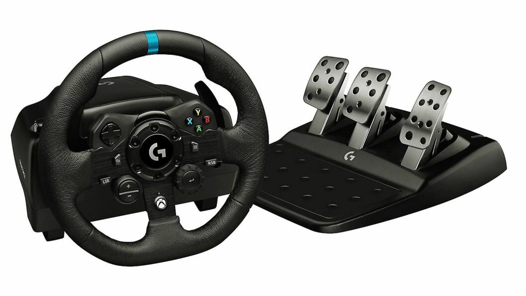 Logitech G923 Racerratt & Pedaler