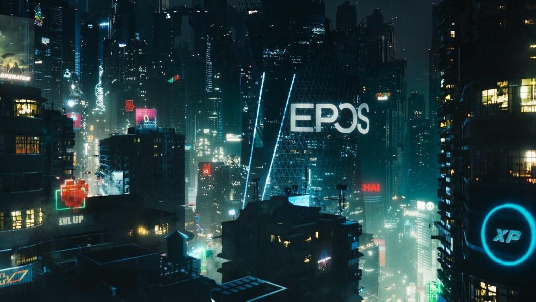 Epos kommer med ny film for å promotere sin gaming-satsing. Foto: Epos
