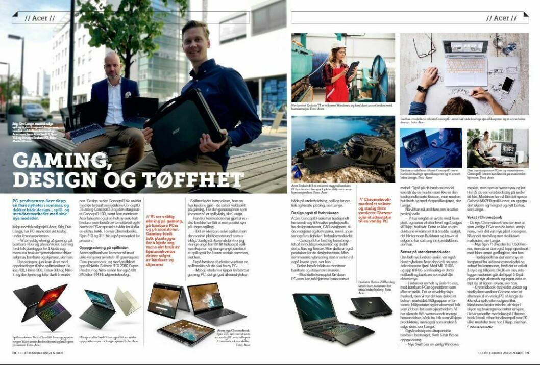"""Artikkelen ble første gang publisert i papirutgaven av fagbladet Elektronikkbransjen nr. 4/2020, som ble distribuert 31. august. <a href=""""https://www.mypaper.se/html5/customer/248/12936/?page=38"""" target=""""_blank"""" rel=""""noopener"""">Her kan du lese artikkelen</a> og bla gjennom digitalutgaven av bladet. Du kan lese alle utgaver av bladet digitalt, fra og med nr. 1/1937, på <a href=""""https://www.elektronikkbransjen.no/historiskarkiv"""" target=""""_blank"""" rel=""""noopener"""">elektronikkbransjen.no/historiskarkiv</a>."""