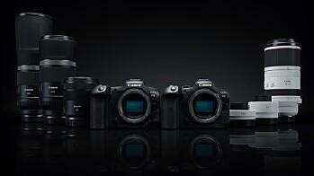 Canon RF 85, 100-500, 600 og 800mm