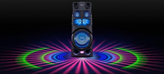 Sony MHC-V83D og V73D