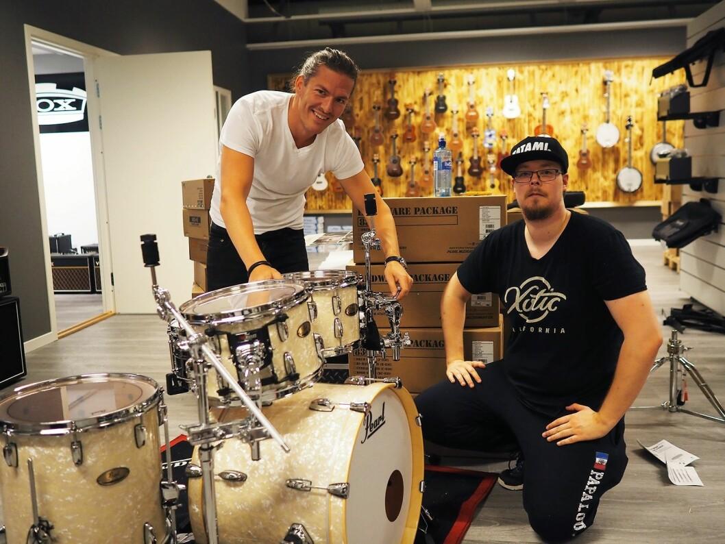 Joel Moberg i Pearl og Michael Horton i 4Sound Stavanger. Foto: Stian Sønsteng.