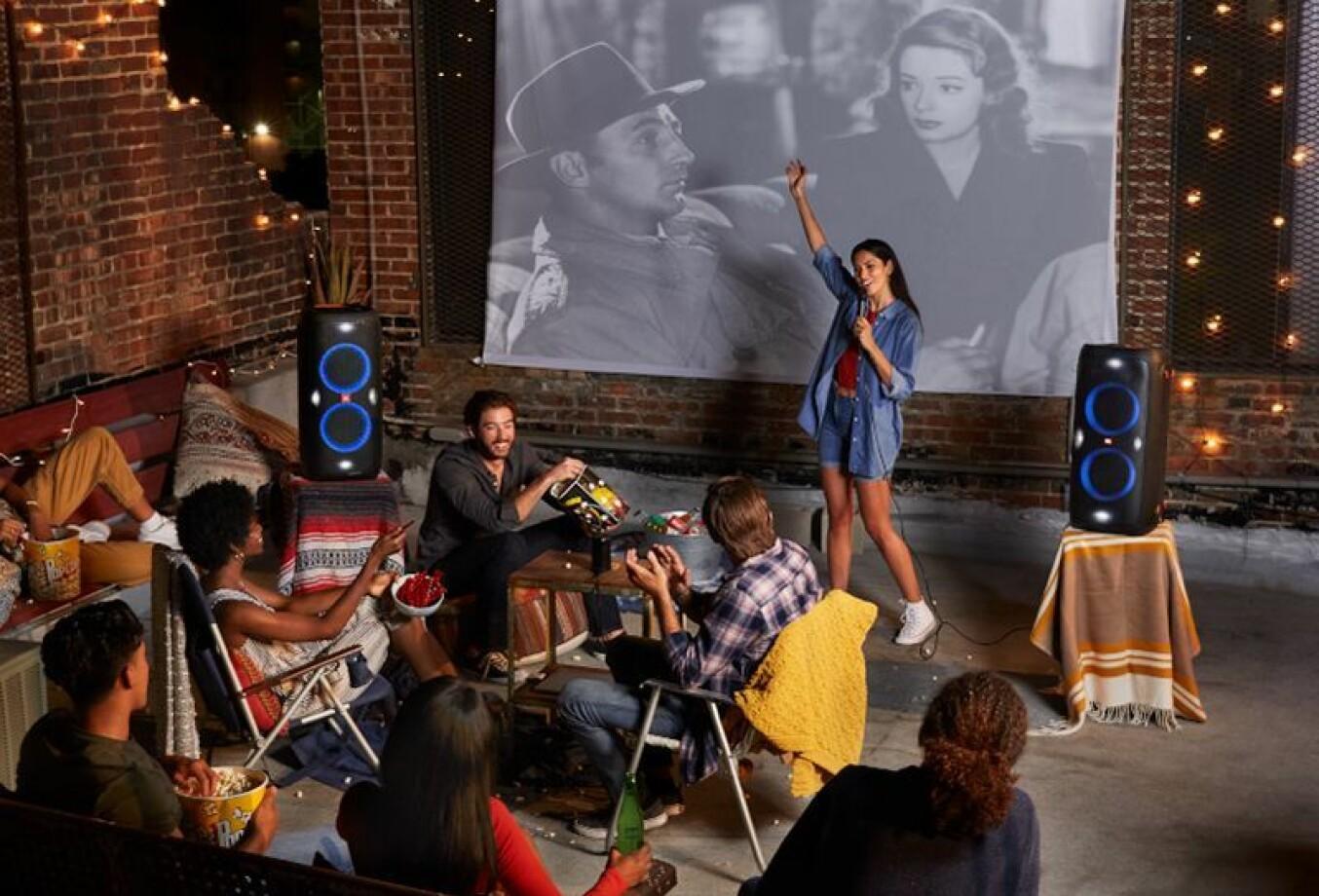 JBL PartyBox 310 gir 18 timer med fest på én opplading. Foto: Harman.