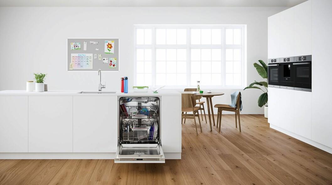 Bosch' Perfect Dry oppvaskmaskiner har blitt enda mer energieffektive. Foto: BSH.