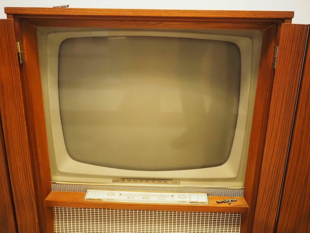 Wilfa har også solgt fjernsynsapparat. Foto: Stian Sønsteng.
