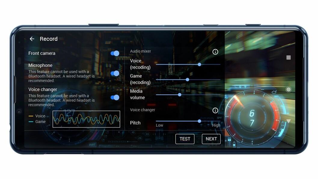Med appen Game Enhancer kan spillere ta opp og legge ut egne spillprestasjoner. Foto: Sony.