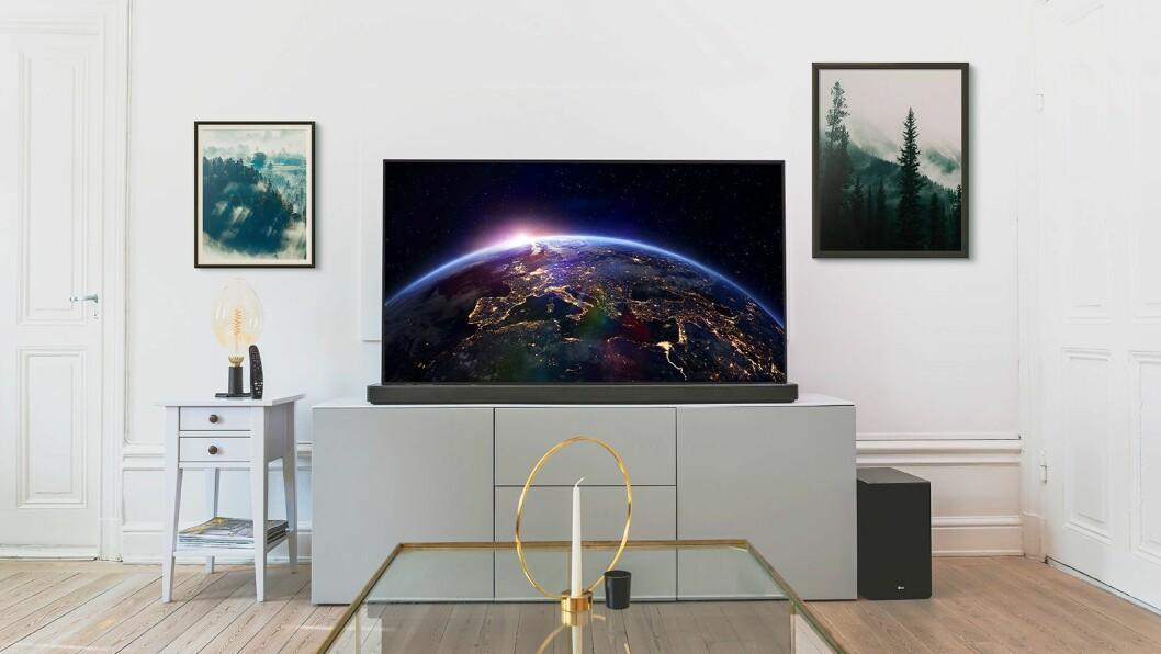 LG oled CX er kåret til «Årets TV 2020/2021». Foto: LG.