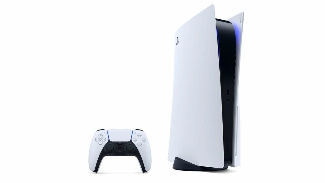 Sony PlayStation 5 er kåret til «Årets spillprodukt 2020/2021». Foto: Sony.