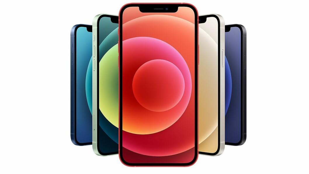 Apple iPhone 12 Mini er kåret til«Årets mobil 2020/2021». Foto: Apple.