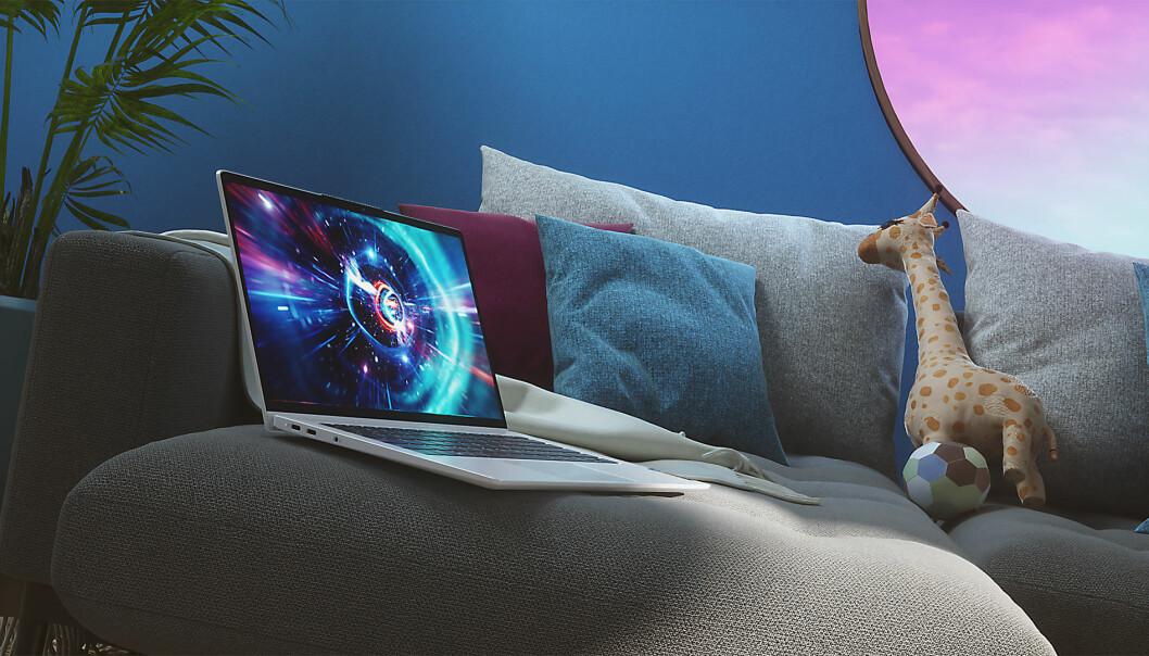Lenovo IdeaPad 5G er en 14 tommers maskin med støtte for 5G. Foto: Lenovo