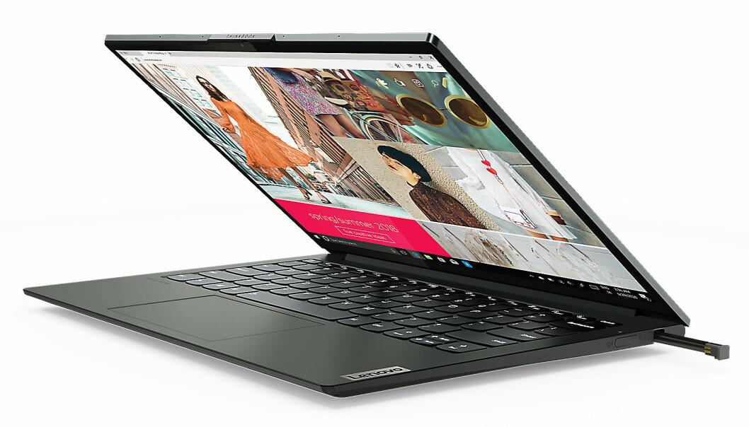 ThinkBook Plus Gen 2 i har fått større skjerm og mindre vekt. Foto: Lenovo