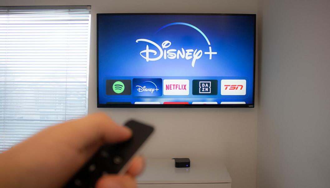 Netflix er størst blant strømmeplattformene, men Disney+ har tatt en god bit av kaken i sitt første år i Norge. Foto: iStockPhoto