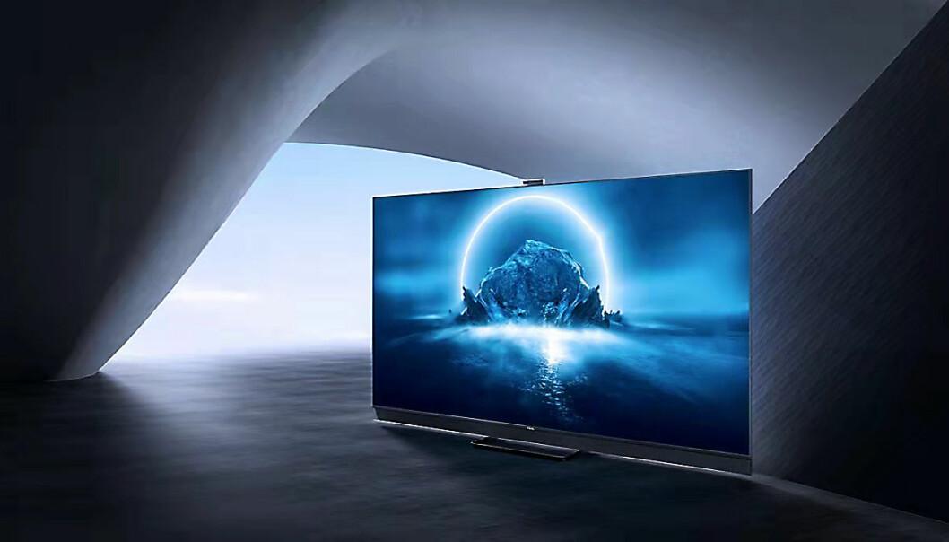 TCL lanserer sin andre generasjon mini-led-TVer, og 4K-verjsonen C825 kommer i 55 og 65 tommer. Foto: TCL