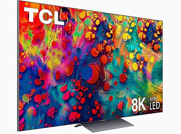 Kineserne kommer også med en 8K-versjon av sine nye mini-led-TVer. X925 kommer i 65 og 75 tommer. Foto: TCL