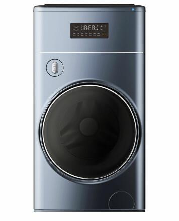 TCLs nyeste vaskemaskin TCL X10 skal passe inn i smarthjemmet via TCL Home-appen. Foto: TCL