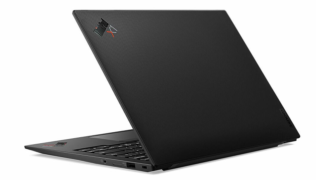 Også Thinkpad-modellen X1 Carbon har fått en oppdatering. Foto: Lenovo