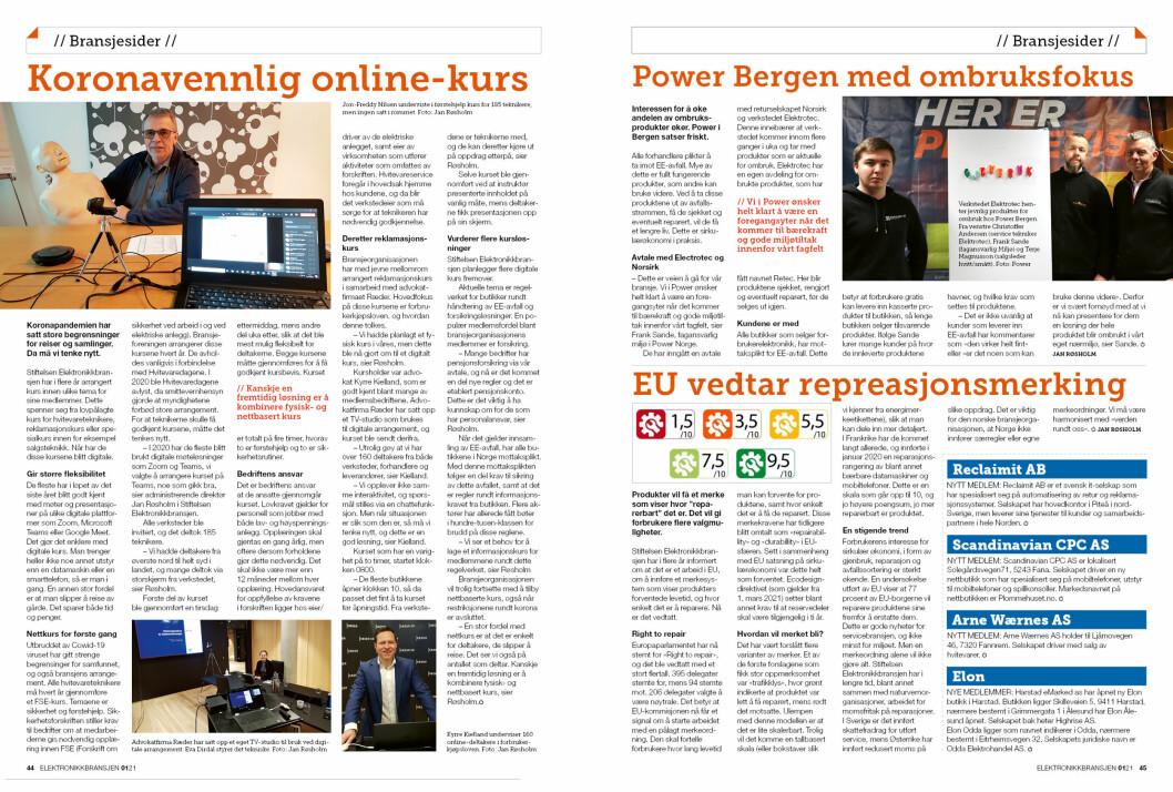 """Artikkelen ble første gang publisert i papirutgaven av fagbladet Elektronikkbransjen nr. 1/2021, som ble distribuert 22 februar. <a target=""""_blank"""" href=""""https://www.mypaper.se/html5/customer/248/13093/?page=44"""" aria-label="""""""">Her kan du lese artikkelen</a> og bla gjennom digitalutgaven av bladet. Du kan lese alle utgaver av bladet digitalt, fra og med nr. 1/1937, på <a target=""""_blank"""" href=""""https://www.elektronikkbransjen.no/historiskarkiv"""" aria-label="""""""">elektronikkbransjen.no/historiskarkiv</a>."""