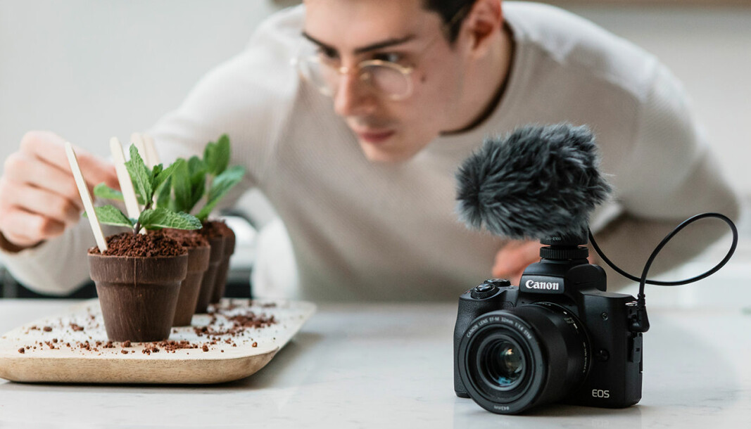 Canon EOS M50 Mark II. Foto: Canon