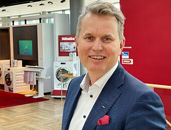 Anders Kjekstad er ny marketingdirektør i Miele Nordics. Foto: Stian Sønsteng