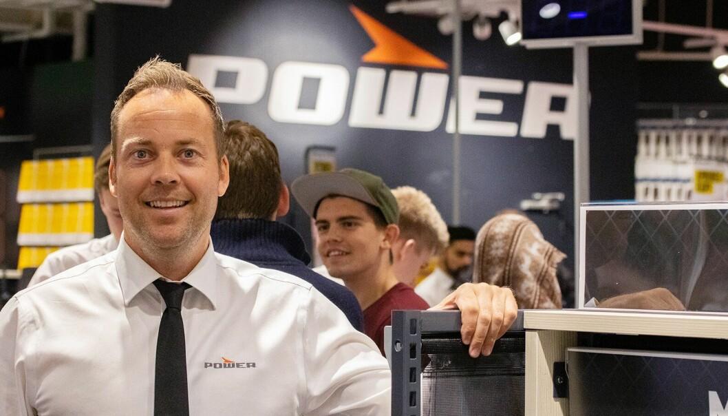 Administrerende direktør Anders Nilsen i Power Norge. Foto: Power