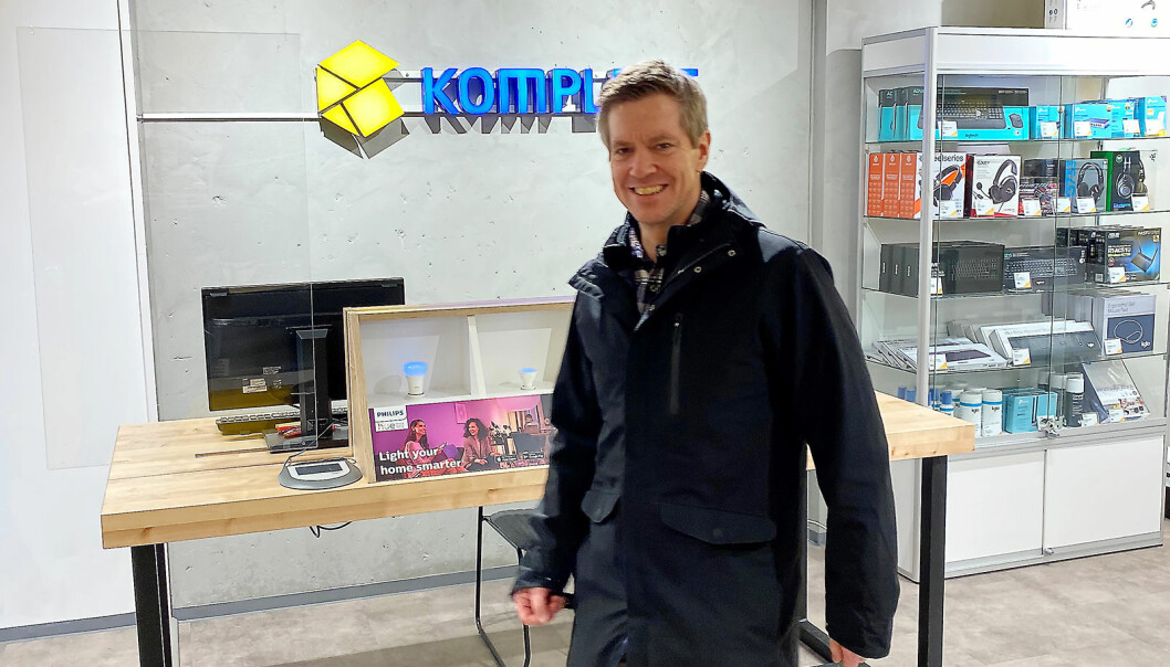 Kjetil Wisløff, driftsdirektør i Komplett-eier Canica, blir nå ny direktør for kategori og innkjøp i Komplett Group.