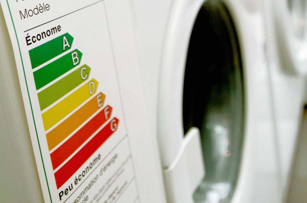 Les hva bransjens aktører mener om de nye energimerkene på vaskemaskiner og oppvaskmaskiner. Foto: @EU 2003