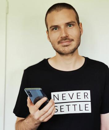 Mikael Åkerstrøm er PR-sjef for OnePlus i Norge og Sverige. Foto: OnePlus