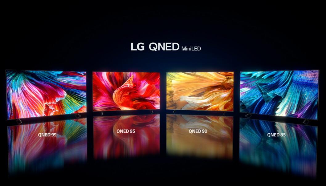 LG kommer med en rekke ny TV-modeller under årets digital CES-messe. Foto: LG