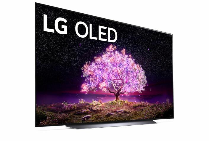 LG OLED C1 er arvtageren til den populære CX-serien fra 2020, og får et nytt design utvendig og kommer for første gang i størrelser opp til 83 tommer. Foto: LG