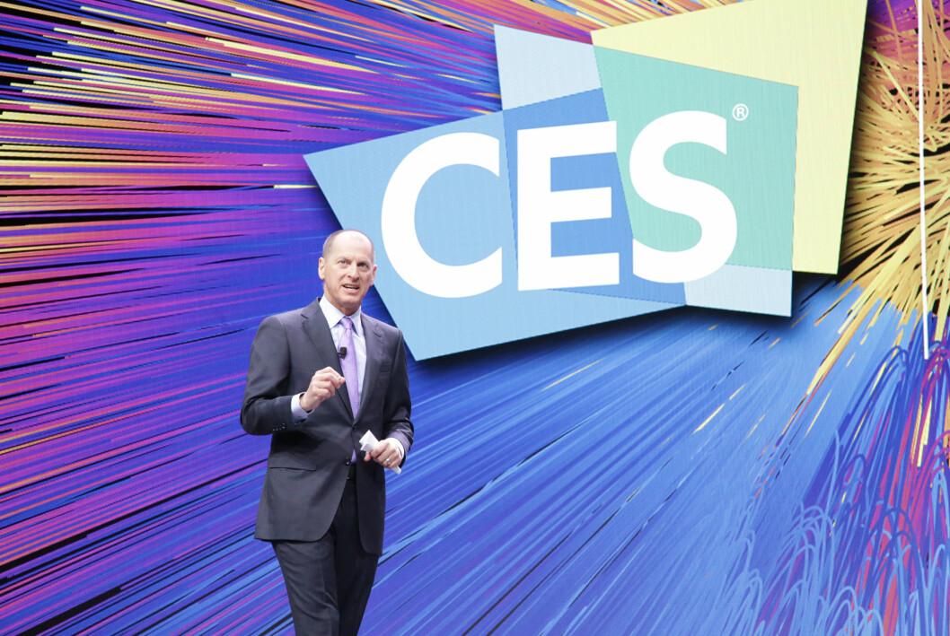 CES arrangeres av CTA, der Gary Shapiro er president og administrerende direktør. Foto: CTA