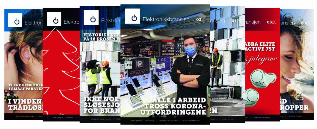 Denne saken sto på forsiden av fagbladet Elektronikkbransjen nr. 2/2021