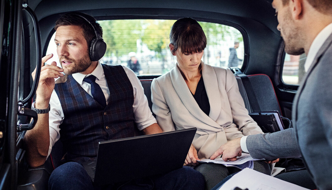 De trådløse hodetelefonene Epos Adapt 660 koster 4.800 kroner. Foto: Epos