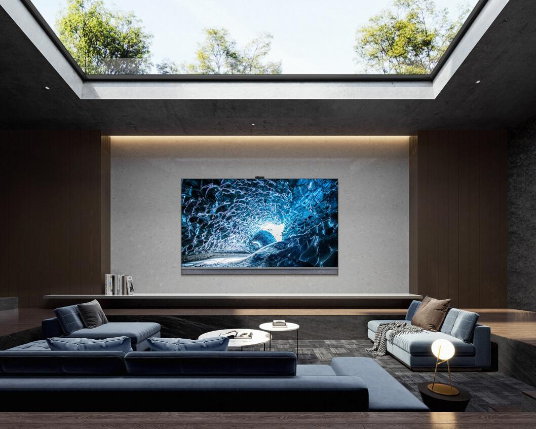 TCL C825 er selskapets andre generasjon av mini-led-TVer. Foto: TCL