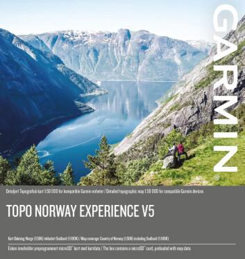 Garmin Topo Norway Experience v5. Foto: Garmin