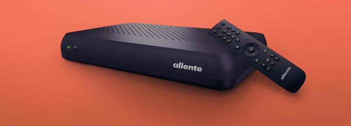 Canal Digitals OnePlace-dekoder er blitt den nye hovedmottakeren for Allente i Norden. Foto: Allente