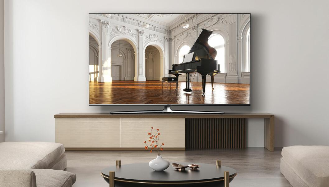 Hisenses 4K ULED-TV koster hos Power 12.000 og 15.000 kroner i 55 og 65 tommer. Quantum Dot, Dolby Vision og Dolby Atmos. Foto: Hisense