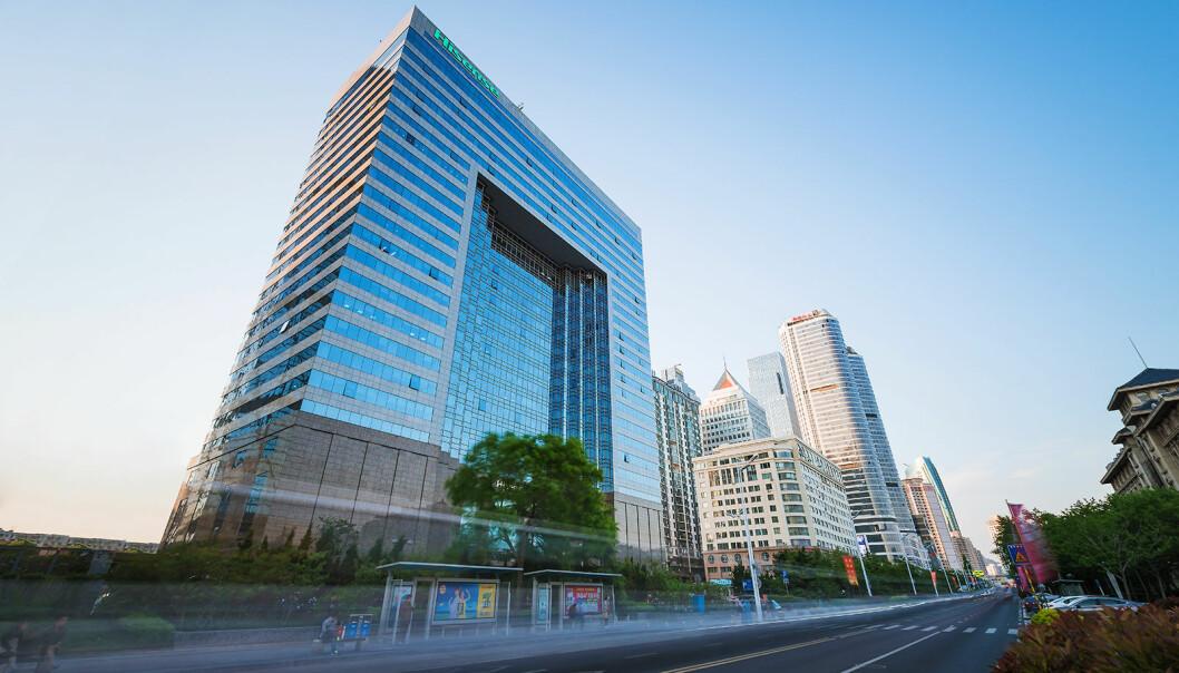 Hisenses hovedkontor ligger i Qingdao i Shandong i Kina. Foto: Hisense