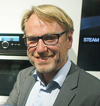 Bjørn Mangset er Norgessjef i Gorenje. Foto: Jan Røsholm