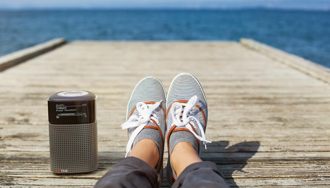 Pinell North har Spotify Connect, blåtann, radio og podcast fra internett, FM og dab. Pris: 3.000,- Foto: TT Micro